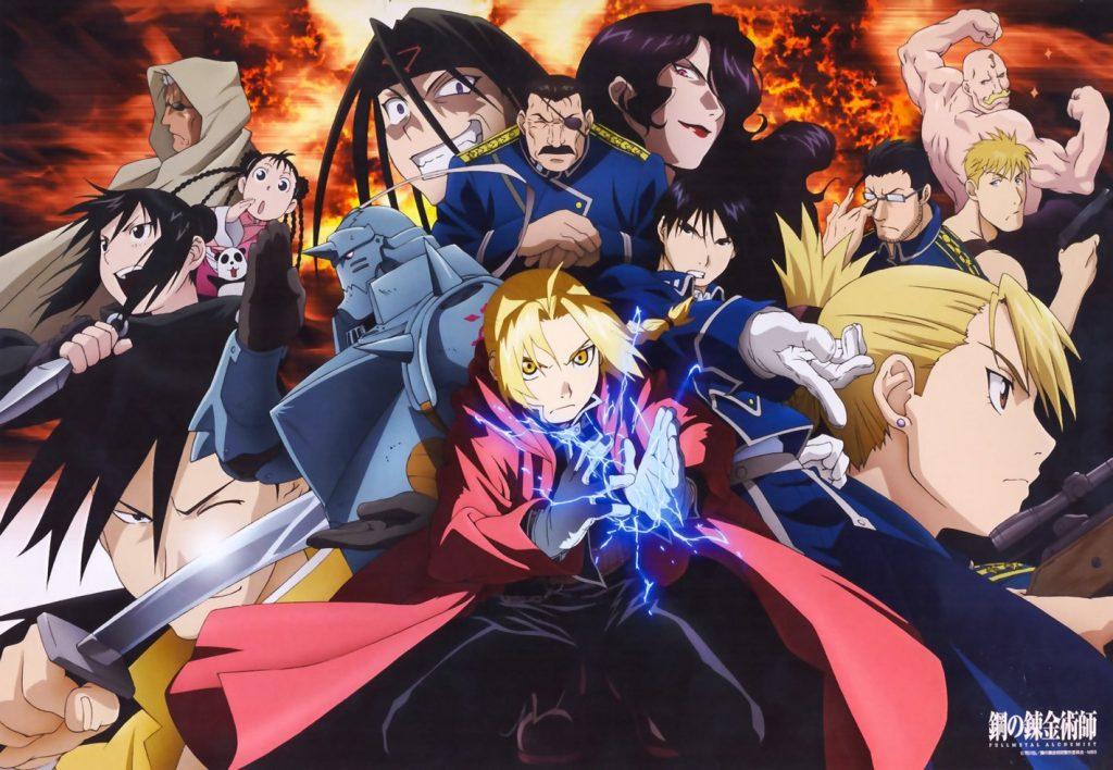 sad anime - full metal alchemist brotherhood
