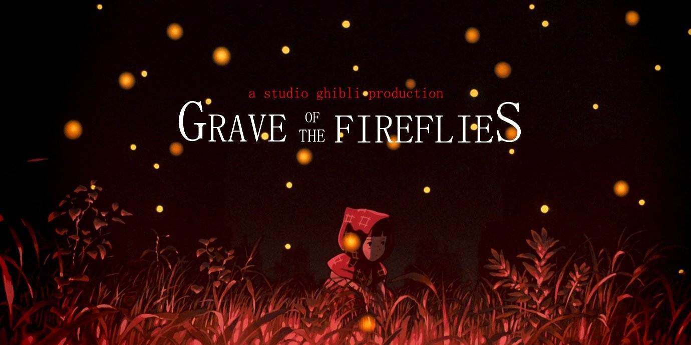 sad anime - grave of the fireflies