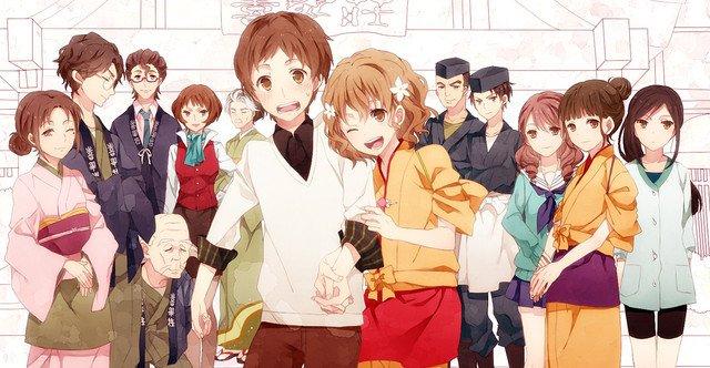 hanasaku iroha - sad anime