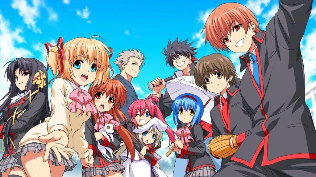 sad anime - little busters