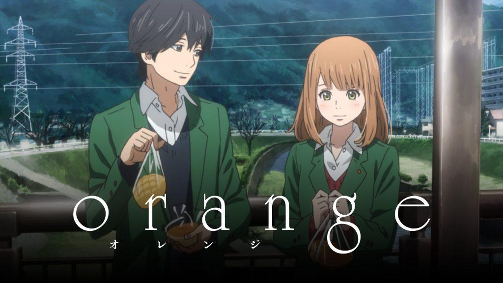 orange - sad anime