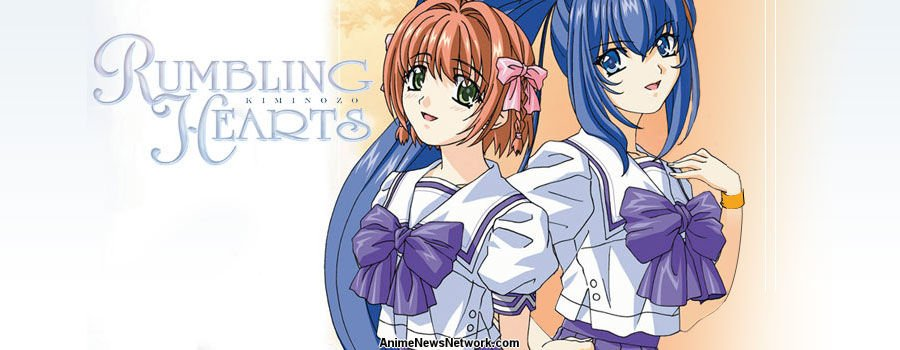 sad anime - rumbling hearts