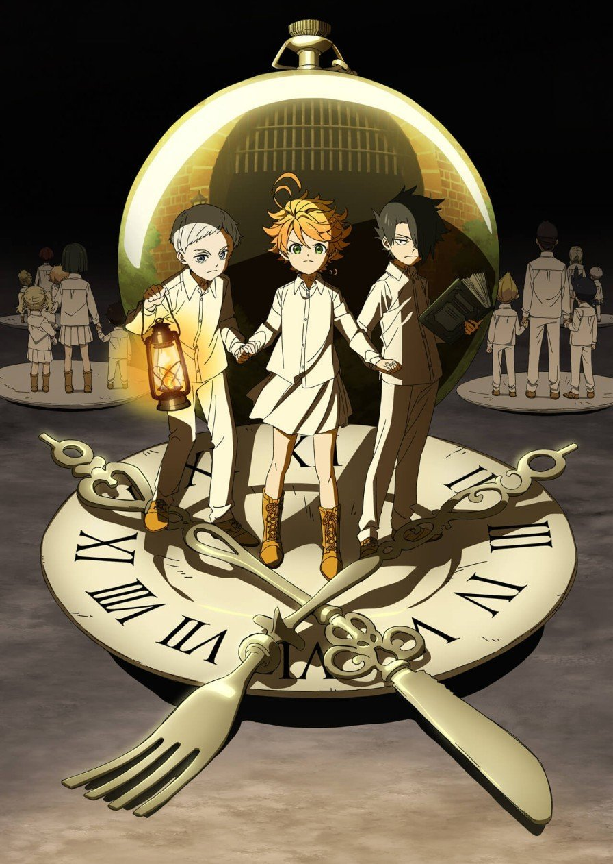 The Promised Neverland Winter 2019 anime