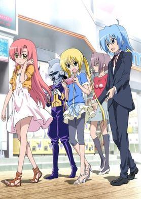 Hayate no Gotoku - romance comedy anime