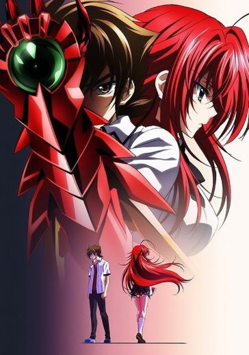 Highschool DxD - best harem anime