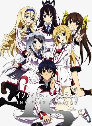 IS - Infinite Stratos - best harem anime