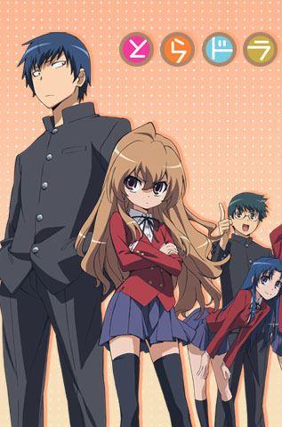 Toradora - romance comedy anime