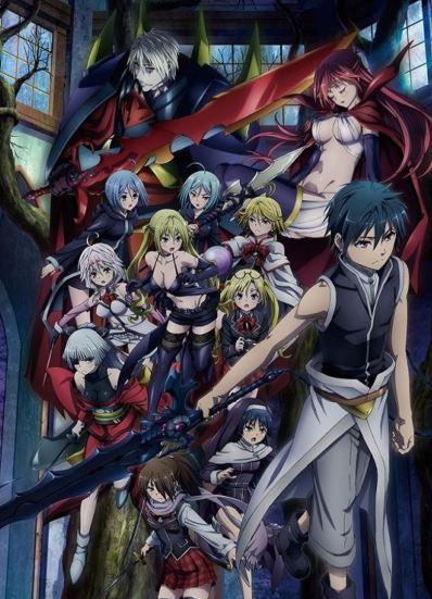 Trinity Seven - best harem anime