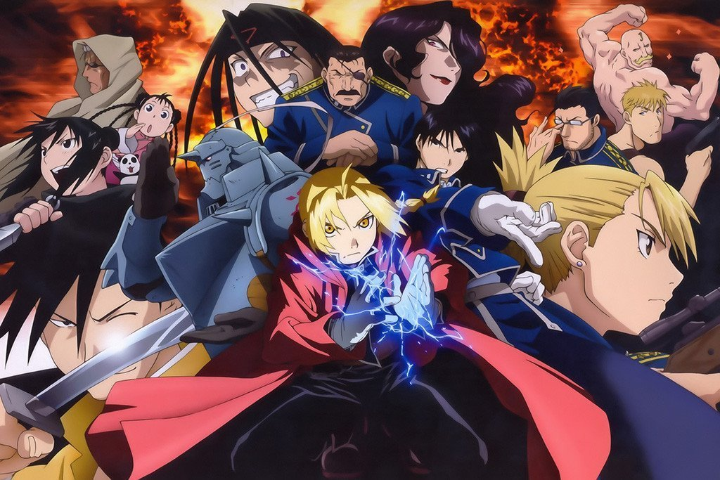 fullmetal alchemist - brotherhood - best anime on netflix