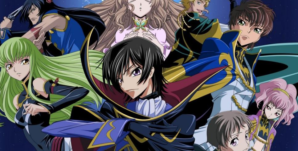 code geass - best anime on netflix