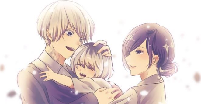 cutest anime couples - kaneki and touka