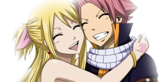 Natsu and Lucy - Cutest anime couples