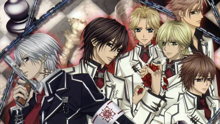 Vampire Knight - best anime on netflix