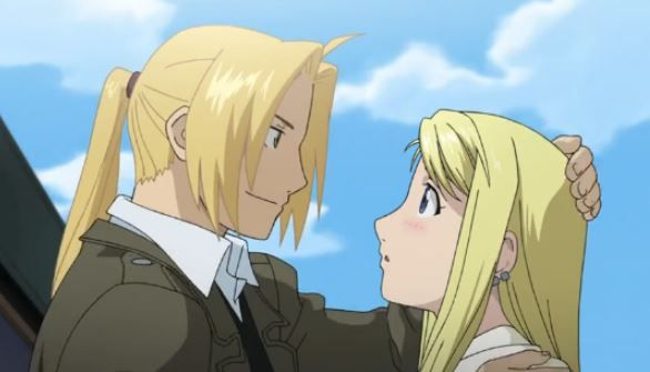 cutest anime couples - winry and edward