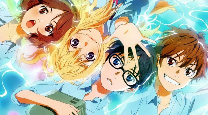 your lie in april - best anime on netflix