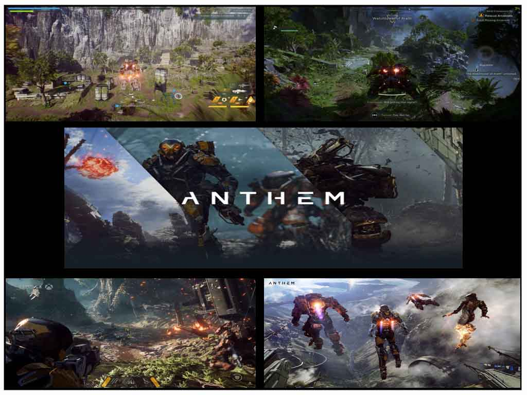 Anthem - Best RPG Games