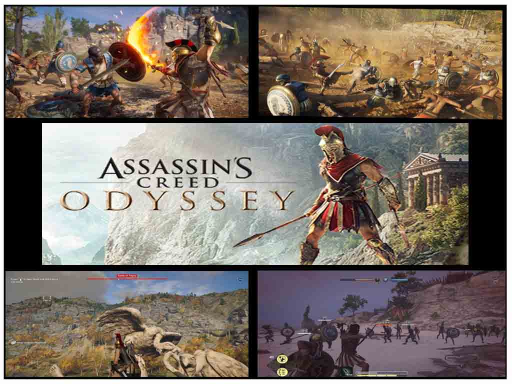 assassins creed - odyssey - best rpg games