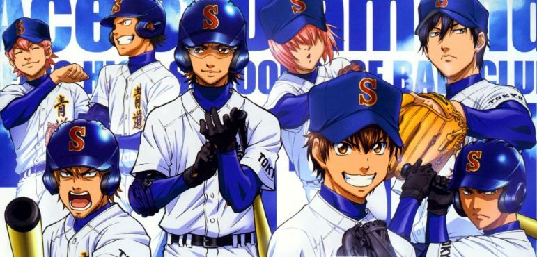 diamond no ace - top 10 best sports anime