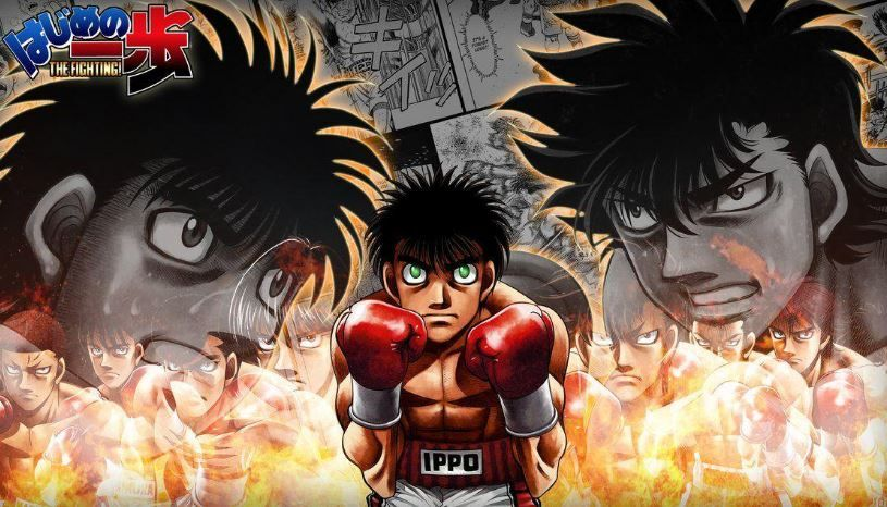 Haijime no Ippo - best sports anime