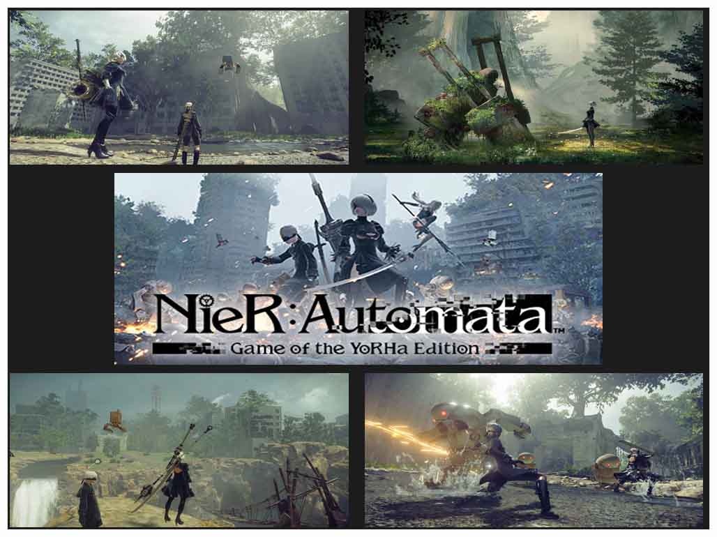 Nier Automata - Best RPG Games