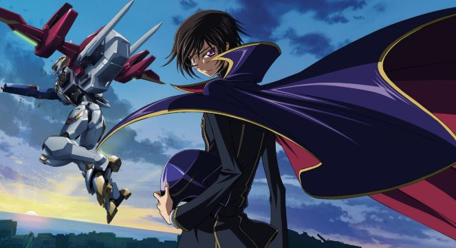 code geass - best military anime