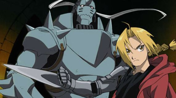 full metal alchemist brotherhood - best military anime