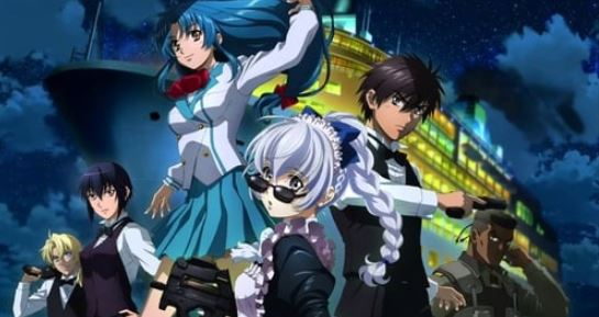 full metal panic - best military anime