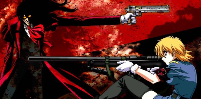 hellsing ultimate - best military anime