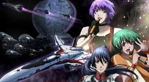 Macross F - Best Military Anime