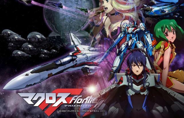 macross frontier series - best mecha anime