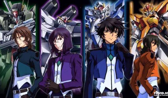 mobile suit gundam 00 - best military anime