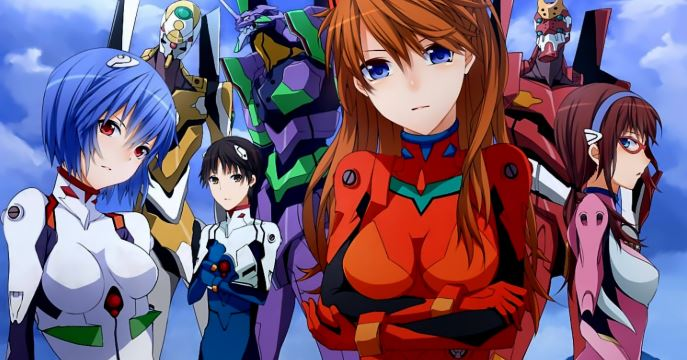 neon genesis evangelion - best mecha anime