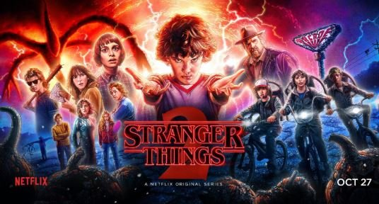 Stranger Things - Best series available on Netflix