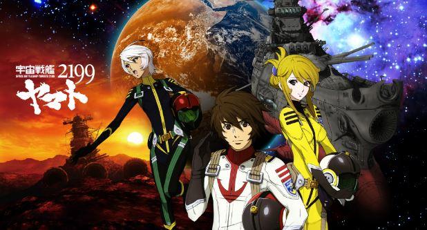 Uchuu Senkan Yamato 2199 - best military anime
