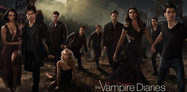 Vampire Diaries - best series available on netflix