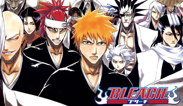 bleach - shounen anime