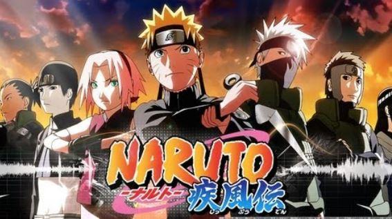 naruto shippuden - shounen anime