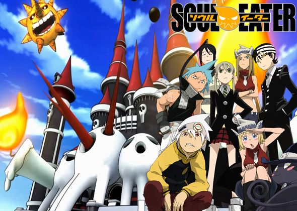 soul eater - shounen anime