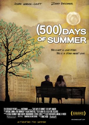 500 days of summer - best romance movies