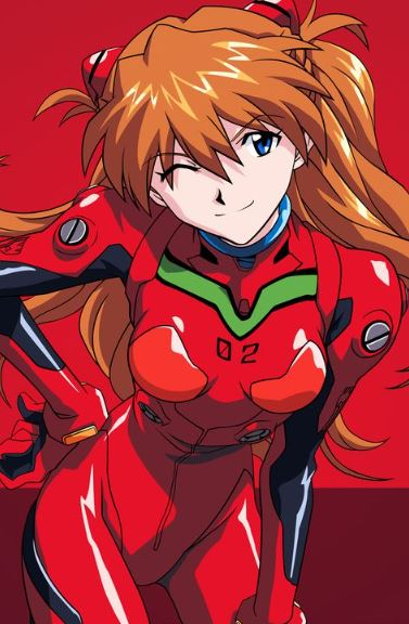 Asuka Langley Soryu - hot anime girls
