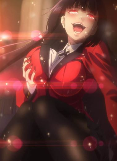 Yumeko Jabami - hot anime girls