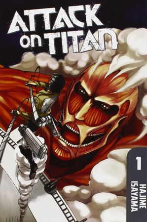 attack on titan - best manga of all time