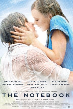 the notebook - best romance movies
