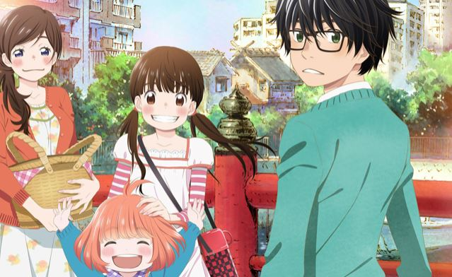 3 gatsu no lion - best slice of life anime
