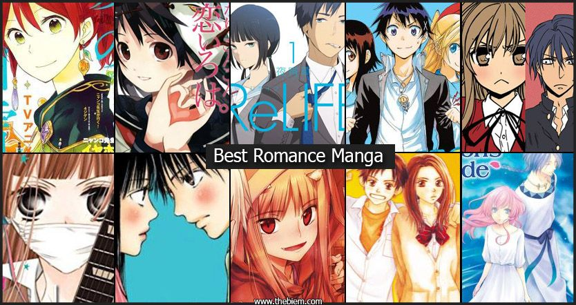Best Romance Manga Featured Image