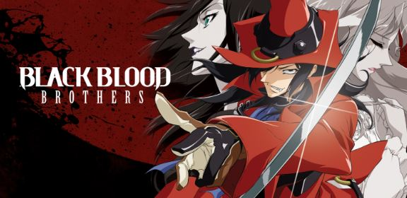 Black Blood Brothers - anime with vampires