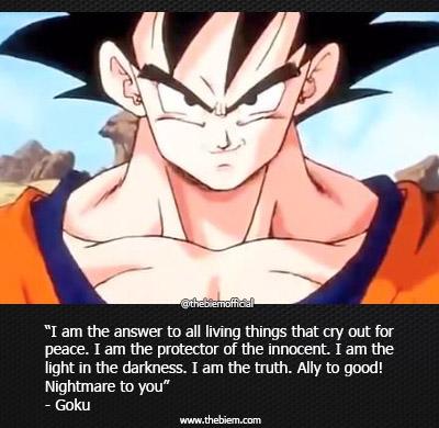 Gokue Quotes