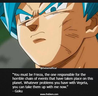 Goku quote