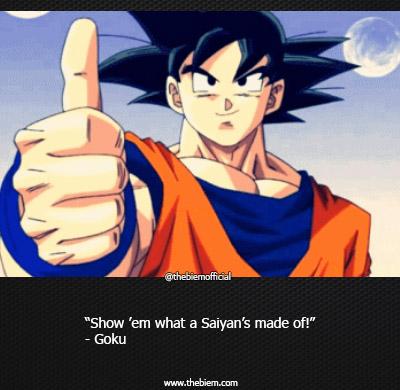 Best goku quote