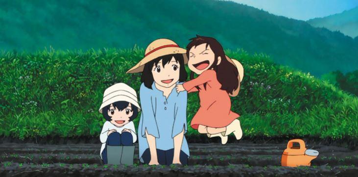 Ookami Kodomo no Ame to Yuki - best slice of life anime